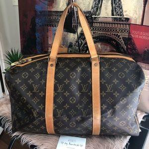Authentic Louis Vuitton sac souple 45 travel bag